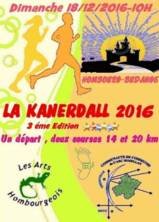 Course Nature La Kanerdall 2016